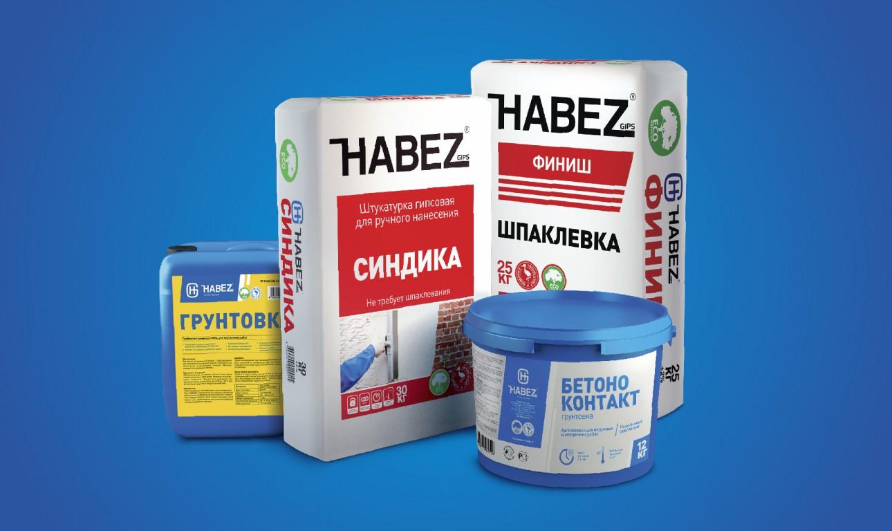 Упаковка для отделочных материалов HABEZ GIPS
