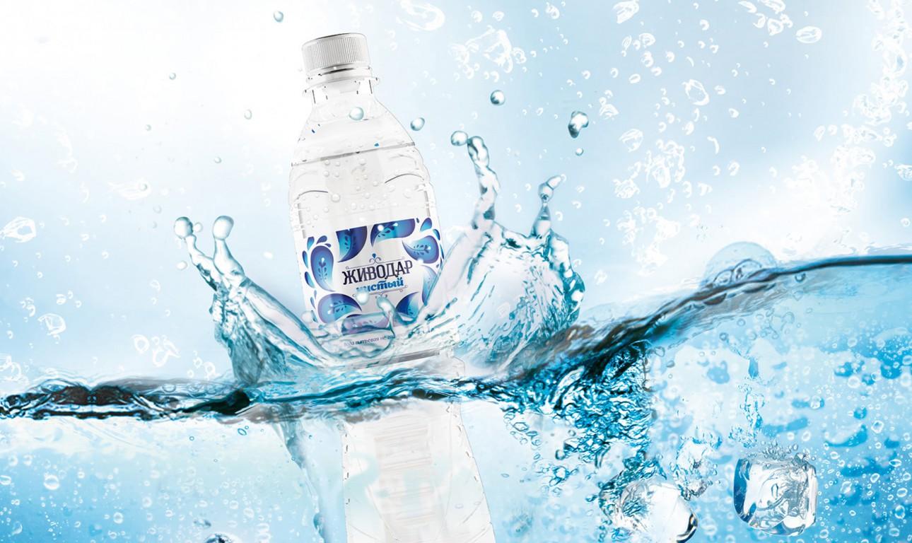 Фирменный стиль для производителя питьевой воды «Живодар»