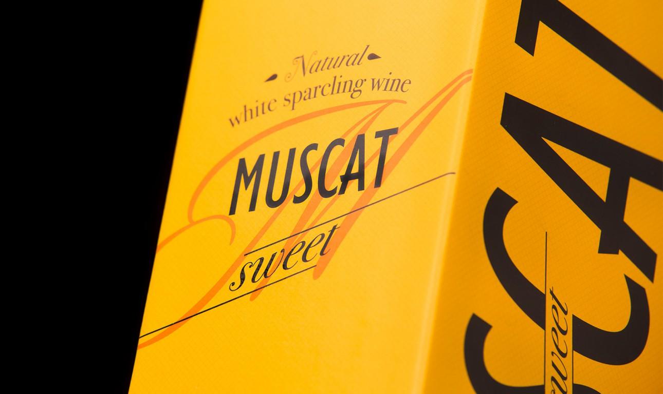 Упаковка для игристого вина MUSCAT