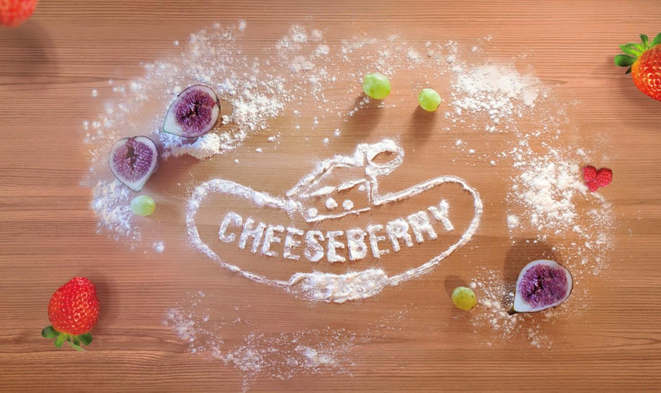 Фирменный стиль для производителя чизкейков CHEESBERRY