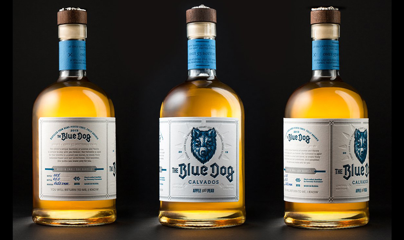«The Blue Dog» — Кальвадос
